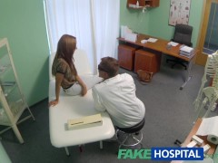 Picture FakeHospital Spying on hot young babe having...