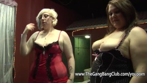 Compilation of fatties at amateur orgies