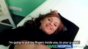 FakeHospital Little teen model lets the doctor touch her for a deal