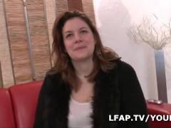 BBW francaise sodomisee grave pour son casting porno