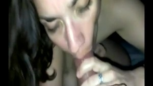 Getting a nice blowjob from a real MILF I know