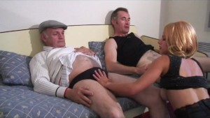voyeur papy enjoys bust french chick