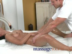 Picture Massage Rooms Petite dark skinned beauty has...