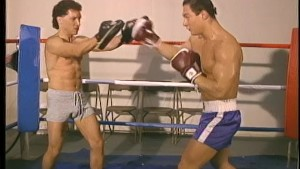 Gay boxers do it in the ring - Stallion Video