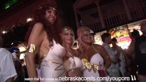 Street Fair Key West Wild Hot Naked Chicks Everywhere