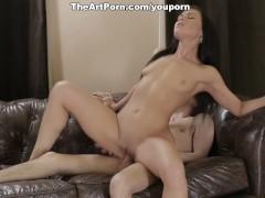 Marina gets orgasm by orgasm fucking the hard piston