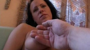 Busty girlfriend homemade hardcore action with cum