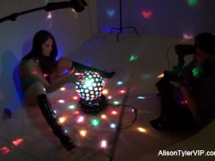 Video:Alison Tyler Sexy Behind the Scenes footage