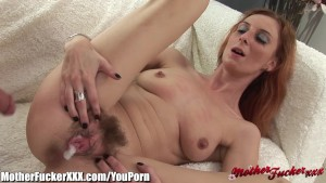 MotherFucker Redhead MILF Banged and Creampied