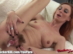 YouPorn - MotherFucker Redhead MILF Banged and Creampied/><br/>