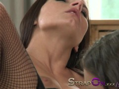 StrapOn Double dildo d...