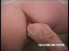 Sweet Teen Fisting Pleasure!