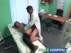 Fake Hospital Doctors cock turns patients frown upside down