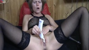 Extreme double fisting and toilet brush fuck