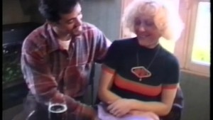 Vintage clip shows this blonde babe getting fucked hard and taking it in the ass - Telsev