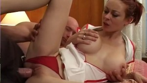 Redhead Gets Her Big Ass Jizzed On - Telsev