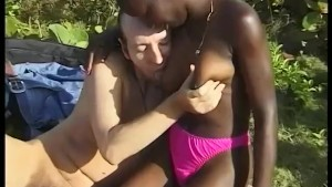 Hot outdoor interracial fucking - Telsev