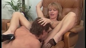 Hot blonde fucked in her office - Telsev