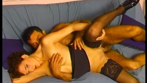 Horny older couple has some fun with anal - Telsev