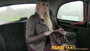 FakeTaxi Mum swallows more than her pride