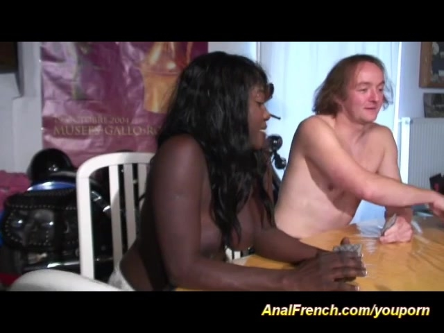 anal french with hot chocolade