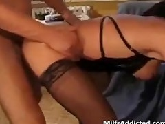 Sexy Ebony Girl Gets Her Big Booty Banged
