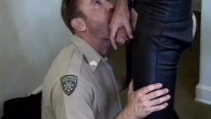 Horny cop needs to get off - Iron Horse
