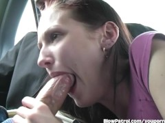 Picture Hailey Young Sucks A Guy's Dick In A Ca
