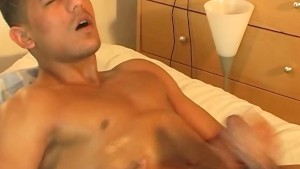 A real arab straight guy gets wanked his enormous cock by a guy in spite of him !