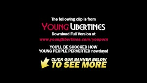 Young Libertines - She gets face-fucked