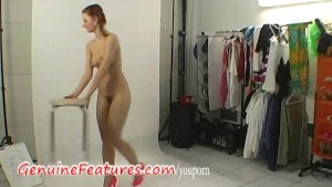 Amazing czech redhead does sexy striptease
