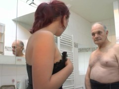 Fucking her boyfriend and then his father - Telsev