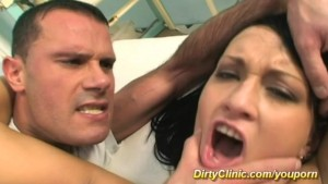 busty babe fucking in the hospital