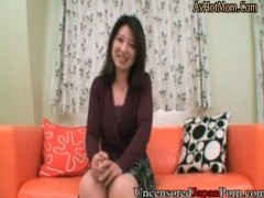 Japanese Uncensored Porn MILF Naho Tijiri casting