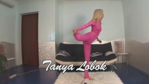 Tanya shows nude gymnastics