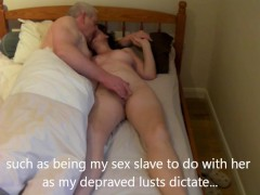 Picture Olde man fucks wife and tapes it
