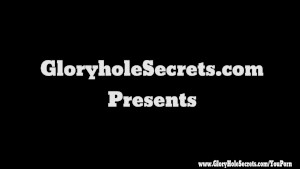 Gloryhole Secrets Buff Babe Jewels Jade Cum Swallowing 5