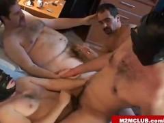 Mature gay dudes fucking