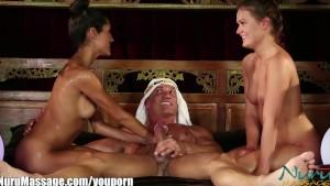 Sneak Peek: Nuru Massage The Sheik's Slippery Threesome