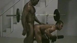 Getting bent over across the workout bench - Bacchus
