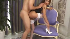 Glamour milf gets her tits creamed - Pandemonium