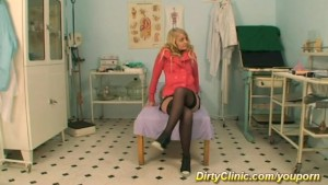 hot patient waiting for her sex doctor