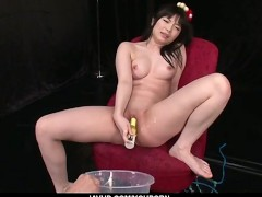Picture Hina Maeda Masturbates And Has Three Guys Cu...