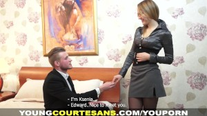 Young Courtesans - The secretary experience