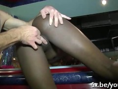 Picture Tatiana a black girl fucked in a threesome