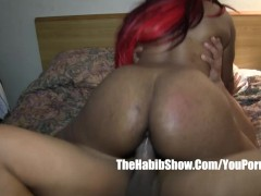 thick mixed hairy rican n black fucked by BBC redzilla