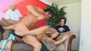 Sweet Housewife Gets Fucked By Swinger