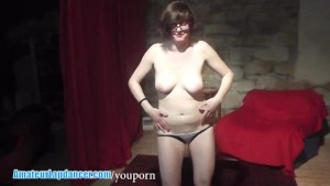 Chubby czech student lapdances and more