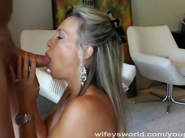 Congratulate, free wifey blowjob swallow accept