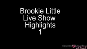 Brook Little Naked on Babestation Xtreme
